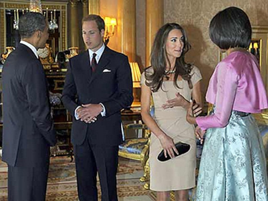 Isabel II recibe a Obama en Londres
