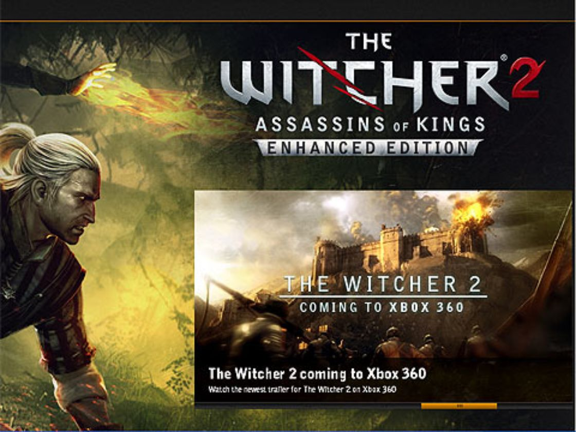 The Witcher llega a Xbox 360