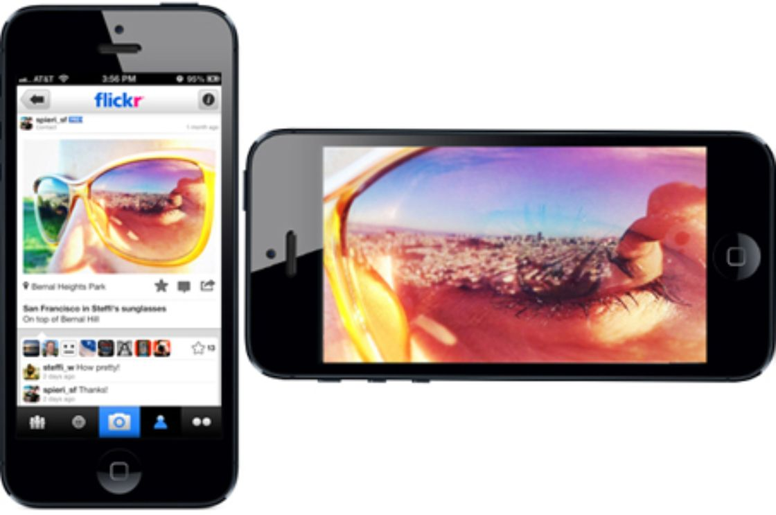 Flickr, renovado para iPhone y iPad