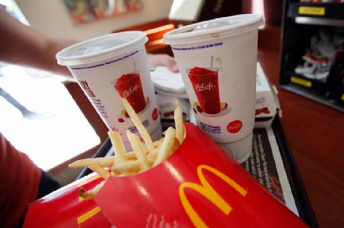 McDonald's sazona menores ganancias en 2012