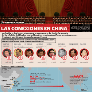 Panama Papers: las conexiones en China