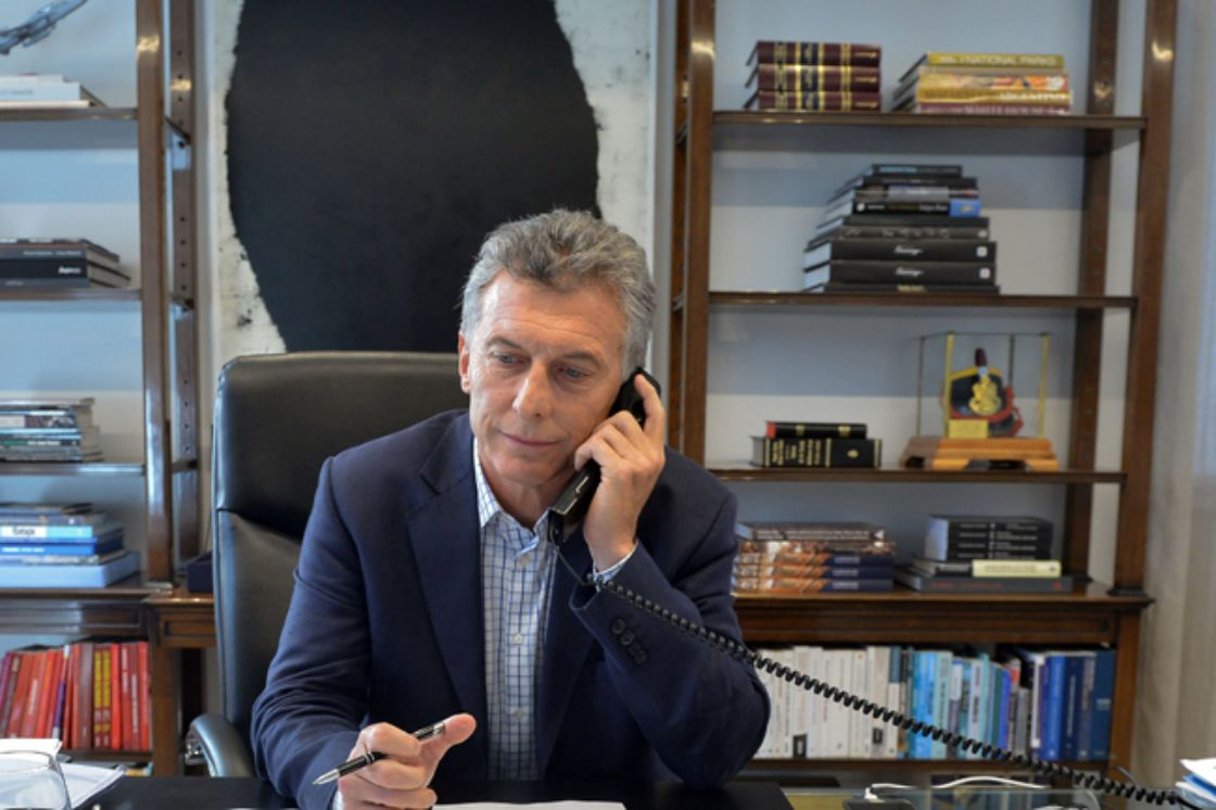 Trump invita a Macri a Washington