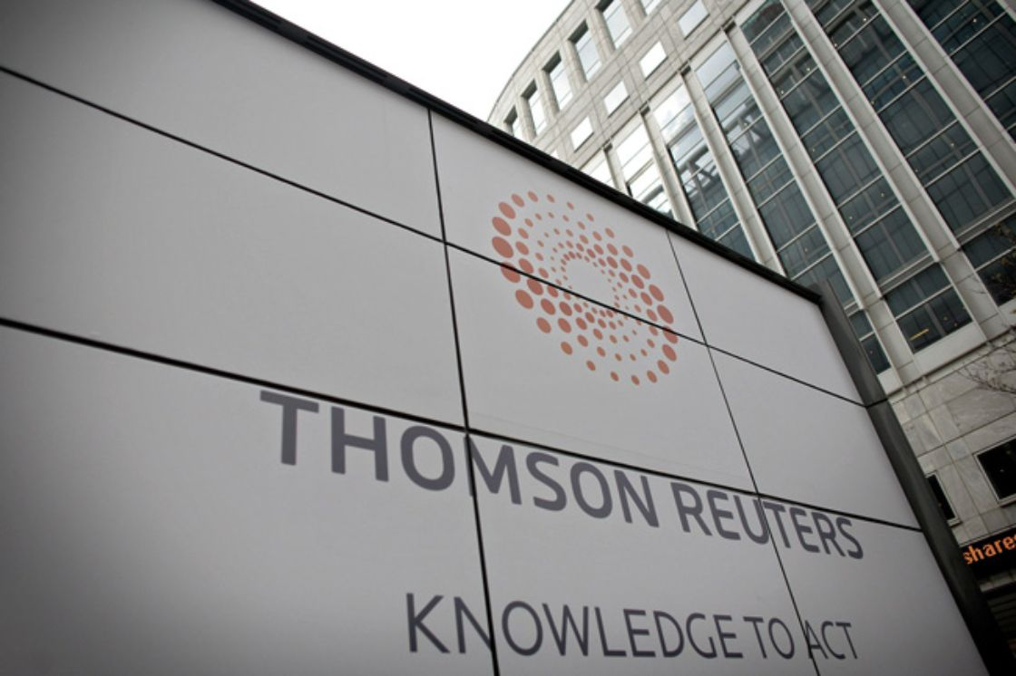 Ganancia de Thomson Reuters supera previsiones en 2T
