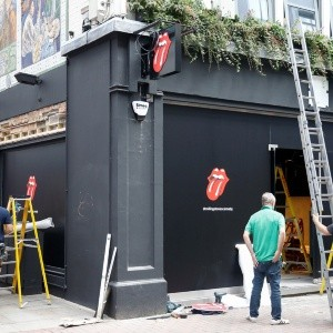 The Rolling Stones abre una boutique en Londres